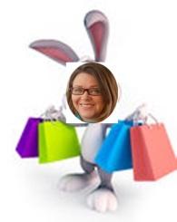 shopper bunny - ERIN